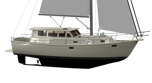 Island Packet 42 Motor Sailer Manufacturer Provided Image