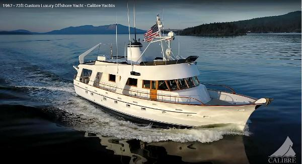 Custom Long Range Ocean Crossing Trawler