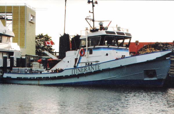 Coastal Tug Tugboat Tug 1