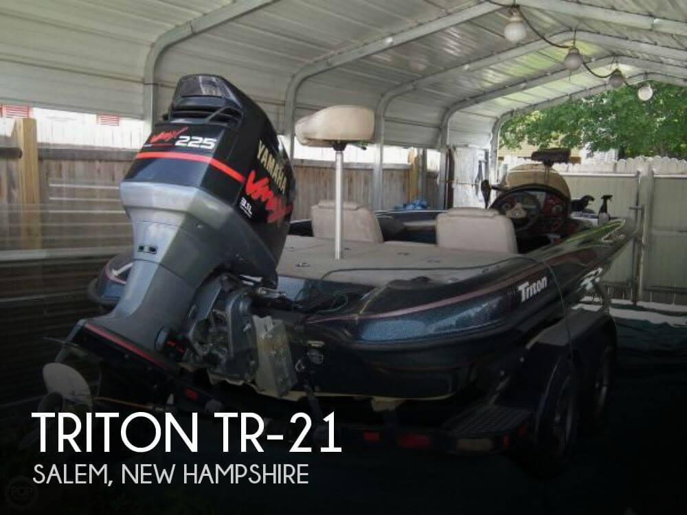 Triton Tr-21 2002 Triton Tr-21 for sale in Salem, NH