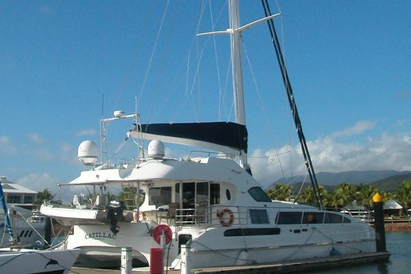 Catamaran Sailing 65
