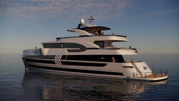 Lazzara Yachts UHV 125 Manufacturer Provided Image: Manufacturer Provided Image