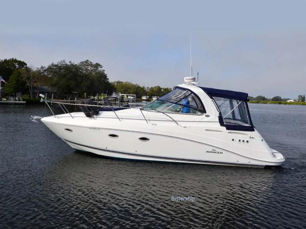 Rinker 35 Express Cruiser Profile - Sistership