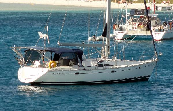 Jeanneau Sun Odyssey 45.2 - $ LOWERED! At anchor