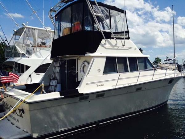 Silverton 37 Sedan Bridge Sportfish Profile