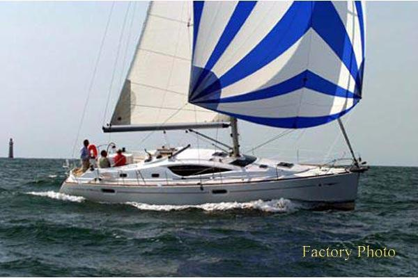 Jeanneau Sun Odyssey  42 DS Factory Photo