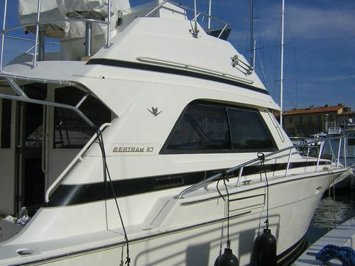 Bertram 37 Convertible bertram 37' convertible
