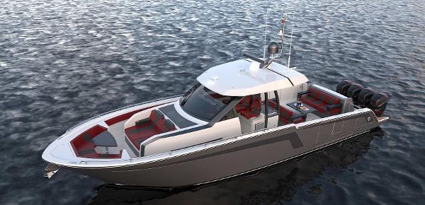Ocean Alexander 45 Divergence - Fishing
