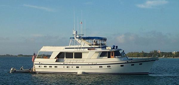 De Fever Performance Offshore Cruiser 66' DeFever starboard profile