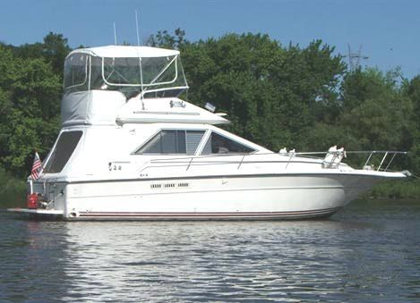 Sea Ray 340 Sedan Bridge Photo 1