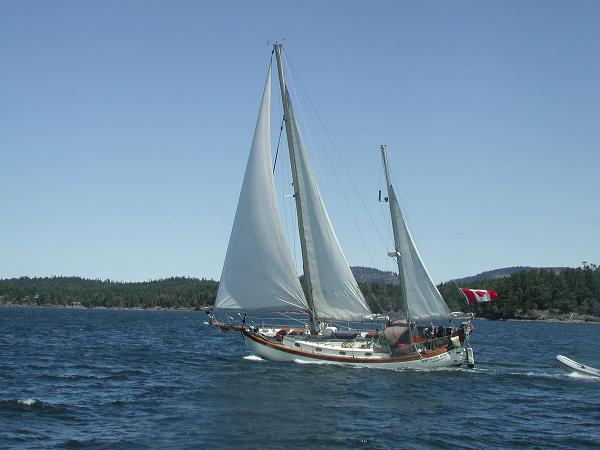 Hans Christian 43t Ketch Hans Christian 43T