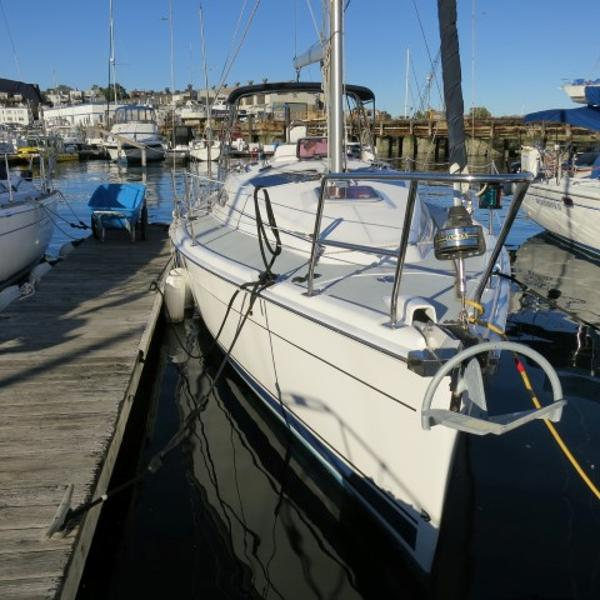 Hunter 33 Dockside