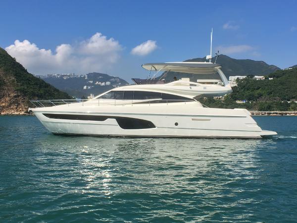 Ferretti Yachts 650 Ferretti 650 Profile