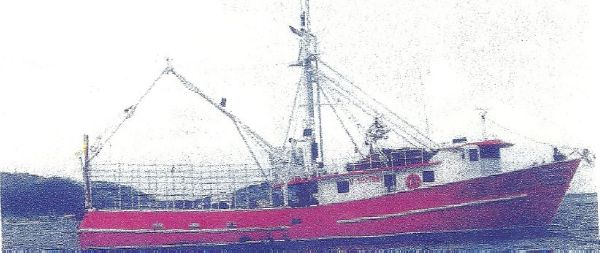 Trawler Lobster Trapping Boat/ Shrimper
