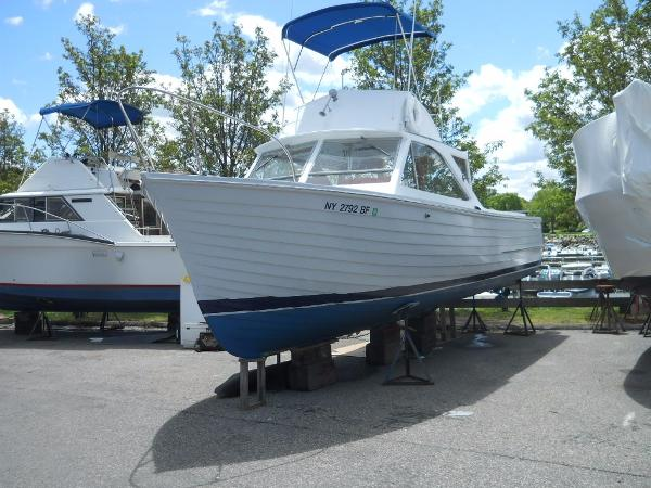 Chris-Craft Sea Skiff Flybridge