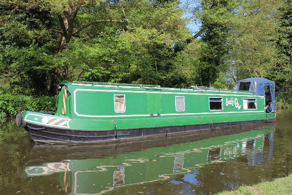 Narrowboat 45' South West Durham Steel 45ft Narrowboat