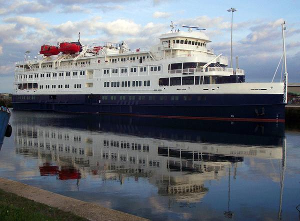 Small Cruise Ship, 294 Passengers - Stock No. S2170 Sister Ship S2104 Also Available