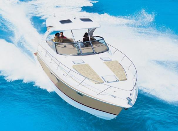 Formula 34 Cruiser Manufacturer Image - available vessel is not a hard top
