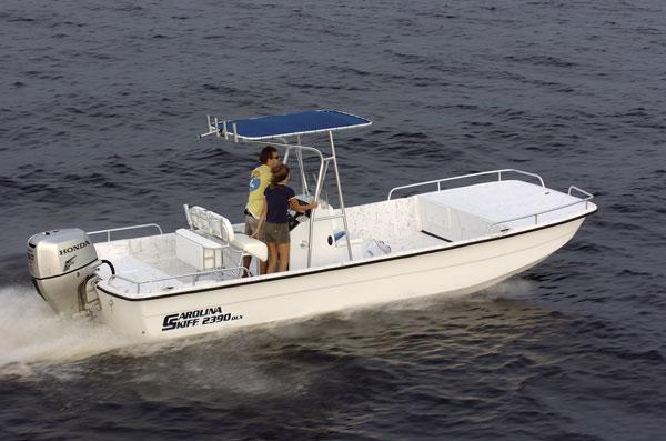 Carolina Skiff 2590 DLX EW Manufacturer Provided Image