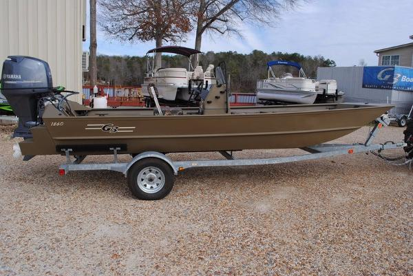 G3 Boats 1860 CCT Tunnel Hull Brown