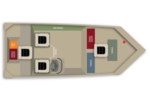 Alumacraft VB 1756 AW T CC