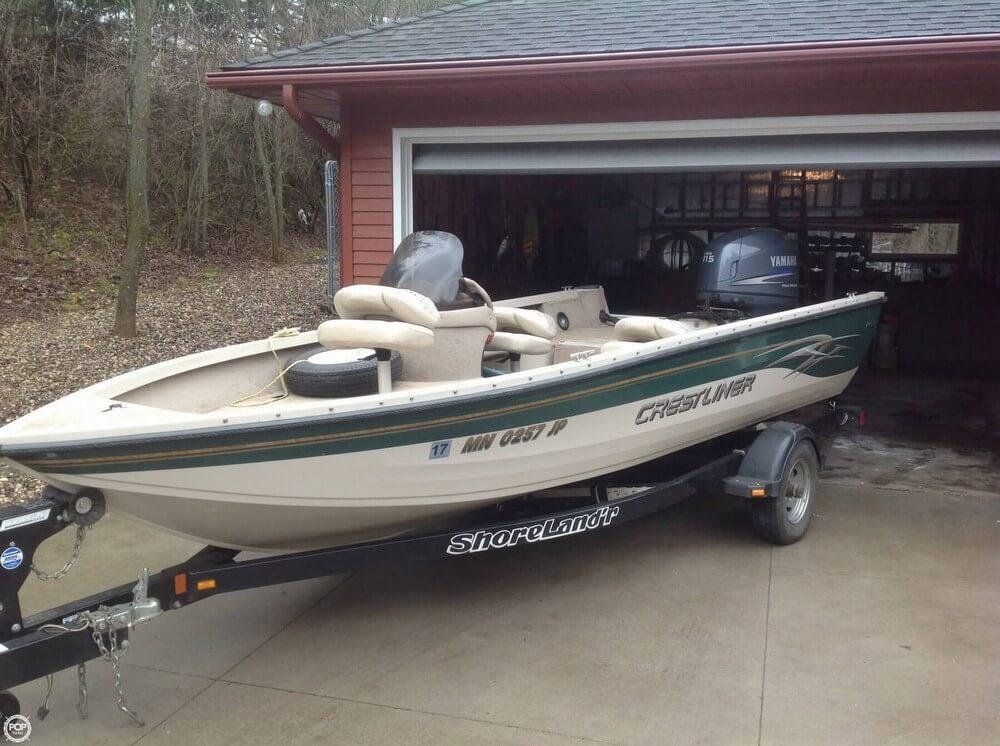 Used aluminum fish crestliner boats for sale for Crestliner fish hawk