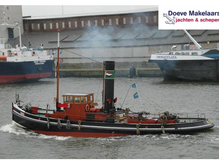 Steam tugboat 18.00 with TRIWV