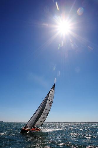 Latitude 46 Tofinou 8m Under Sail
