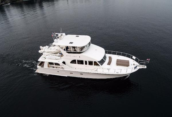 Cheoy Lee 65 Pilothouse Drone exterior picture