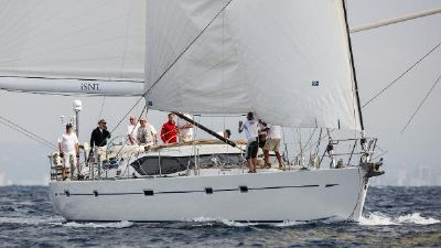 Oyster 655 Sailing