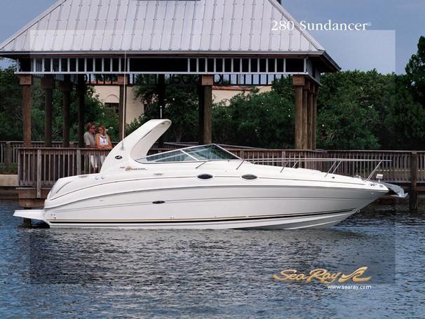 Sea Ray 280 Sundancer Manufacturer Provided Image