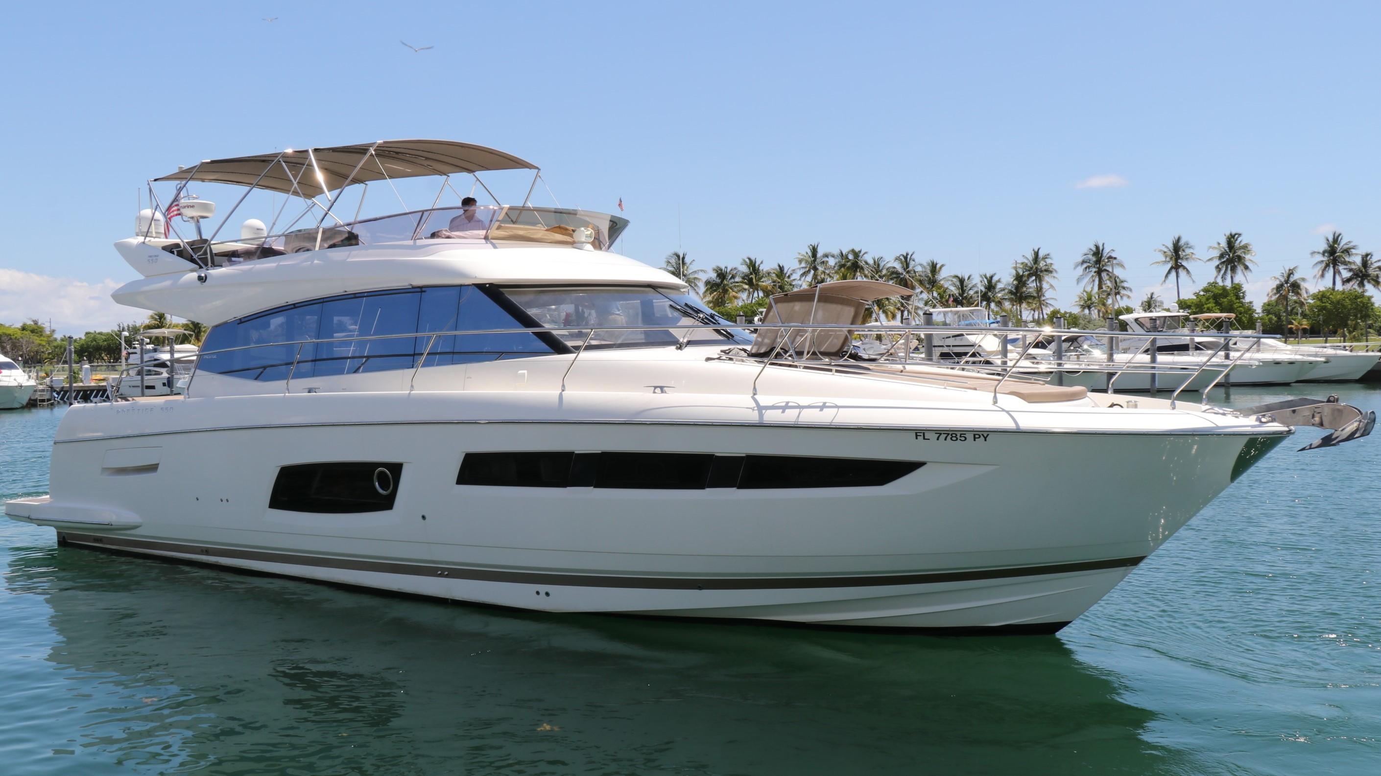 Prestige 550 Fly Port Profile