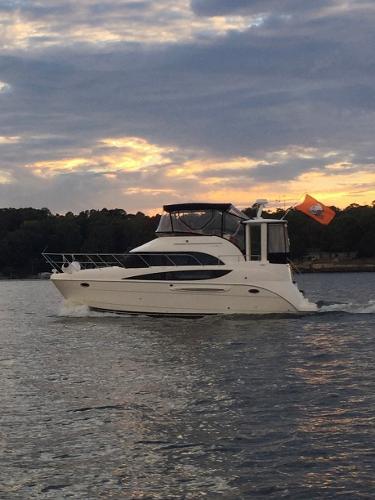 Meridian 368 Motoryacht Port Profile