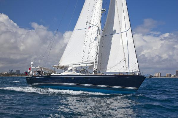CNB Yachts Bleu d'Aquitaine CNB 71 under sail