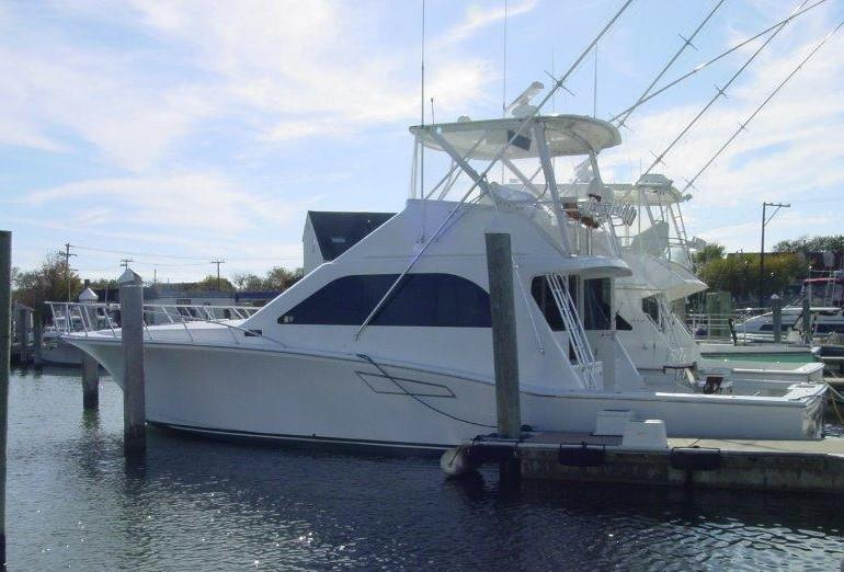 Cabo 47 Flybridge Profile