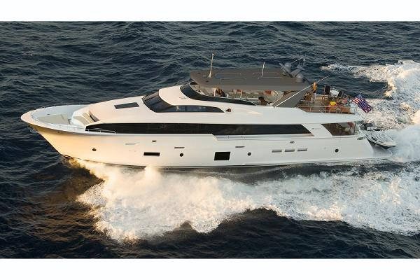 Hatteras 105 Raised Pilothouse Manufacturer Provided Image