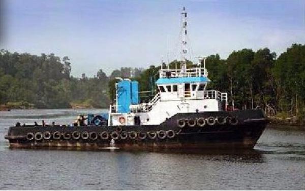 Steel Tugboat 2000 bhp, 25tbp tugboat