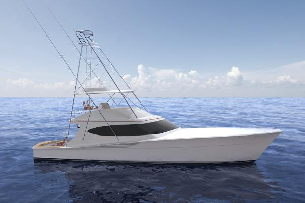 Hatteras GT65 Carolina Manufacturer Provided Image