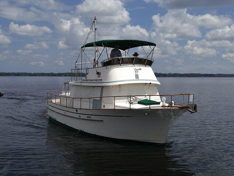 Albin Trawler Classic Lines and Multiple Decks