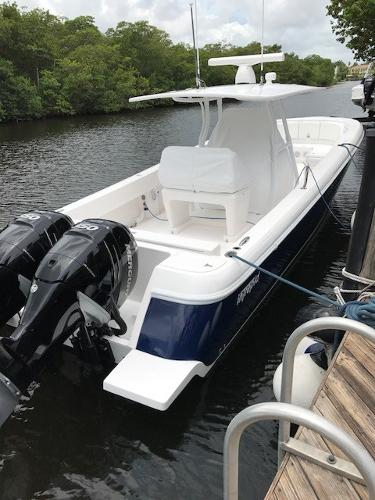 Intrepid 375 Center Console