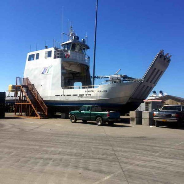 Ferry - Landing Craft - Work Boat