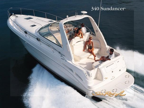 Sea Ray 340 Sundancer Manufacturer Provided Image