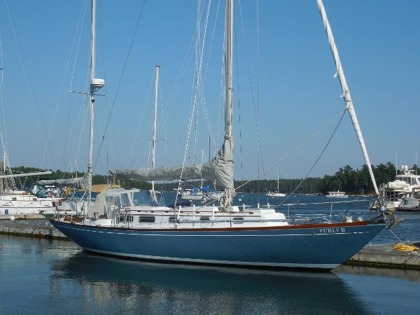 Allied XL-2 Yawl Dockside