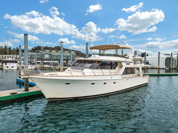 "Offshore Yachts Pilothouse 55' Offshore ""NELSEA"""