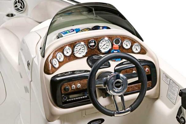 Manufacturer Provided Image: An elegant driver's console is as functional as it is attractive.