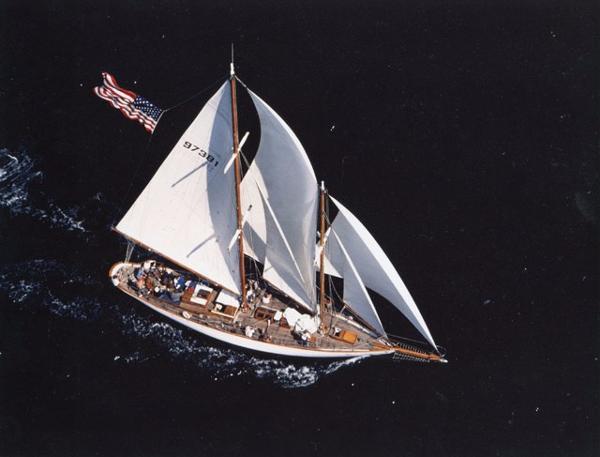 Alden Yachts 61 STAYSAIL SCHOONER