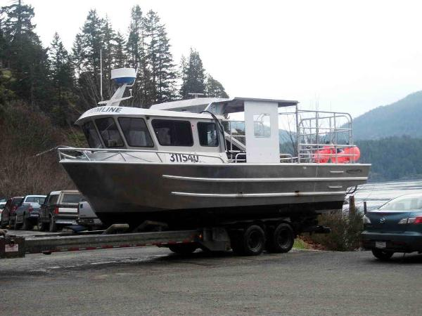 Commercial Northwest Prawn Crab Dive Boat