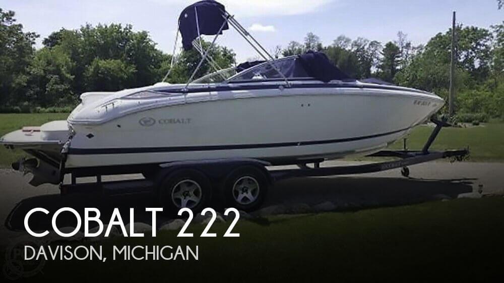 Cobalt 222 2007 Cobalt 222 for sale in Davison, MI