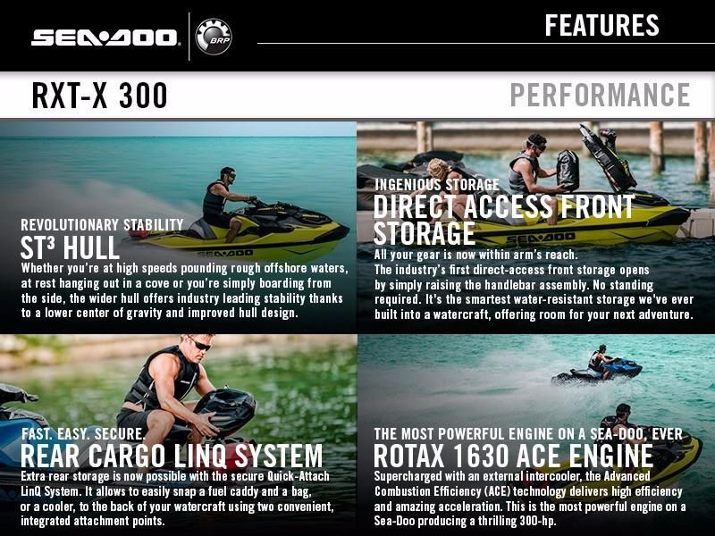 2018 Sea-Doo RXT®-X® 300 IBR & Sound System, Somerset United