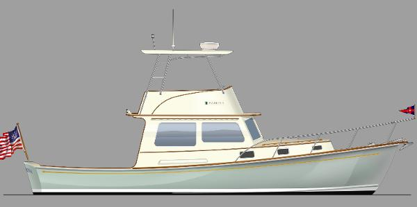 Dyer 40 Flybridge Cruiser